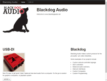 Tablet Preview of blackdogaudio.net